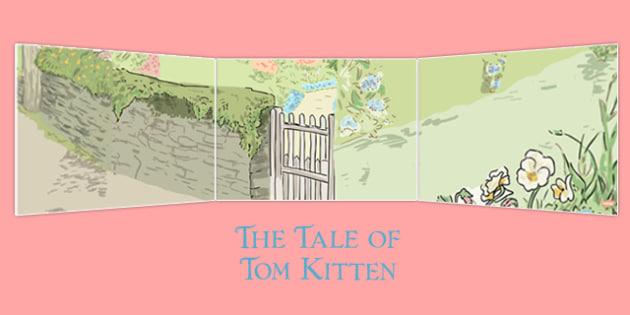 Beatrix Potter - The Tale of Tom Kitten Small World Background - beatrix potter, tom kitten