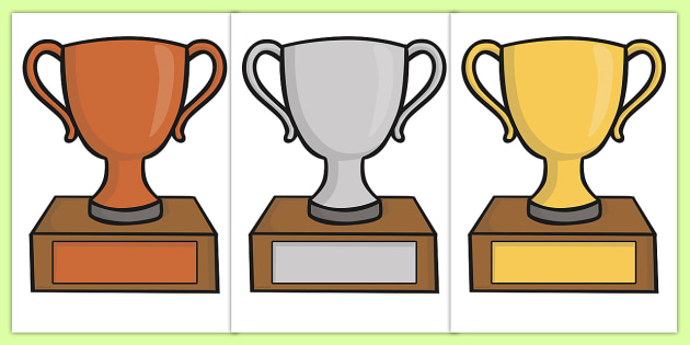 photo regarding Printable Trophy Labels titled Absolutely free! - Editable Clroom Award Trophies - Advantage