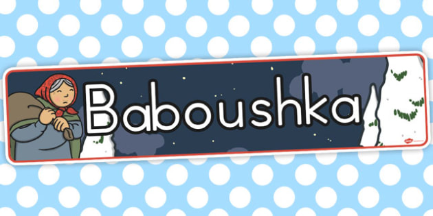 Babushka Baboushka Display Banner - australia, babushka, display