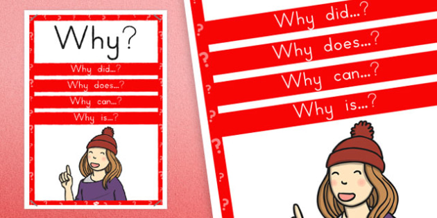 Why? Question Poster - australia, question, poster, display, why