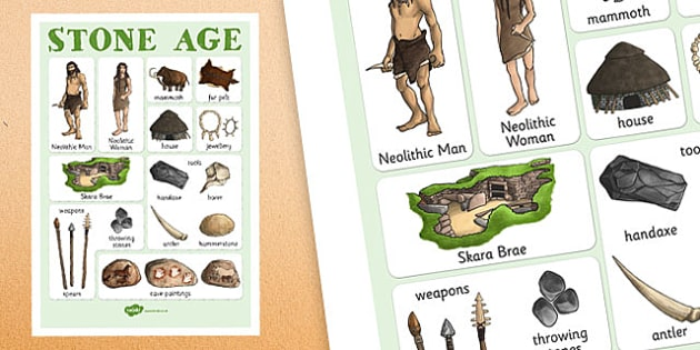 Primary Home Work Stone Age