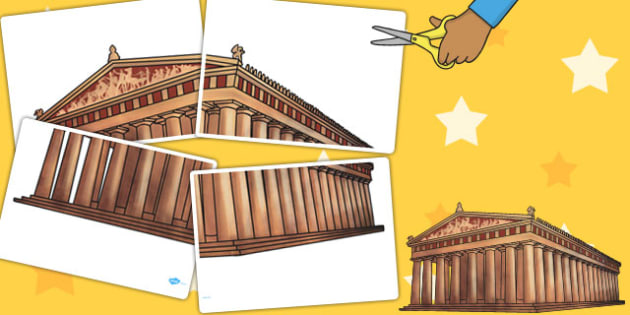 A2 Parthenon - displays, display, poster, posters, visuals, A2