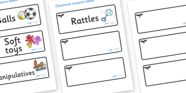 Eagle Themed Editable Additional Resource Labels - Themed Label template, Resource Label, Name Labels, Editable Labels, Drawer Labels, KS1 Labels, Foundation Labels, Foundation Stage Labels, Teaching Labels, Resource Labels, Tray Labels, Printable la