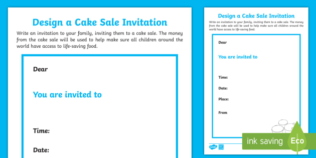 Eyfs cupcake sale invitation worksheet activity sheet eyks1 eyfs cupcake sale invitation worksheet activity sheet eyks1 unicef worksheet stopboris Images