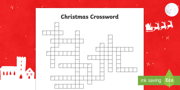 Christmas Crossword Australia