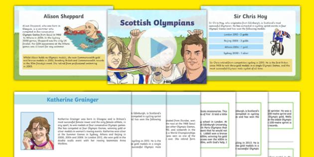 Scottish Olympians Resource Pack-Scottish
