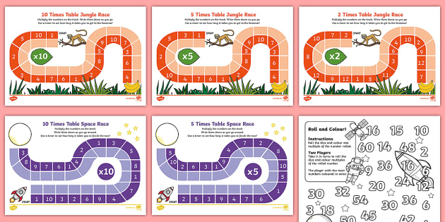 Times tables games - Free online times tables games ...