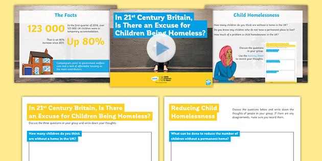 BBC Children in Need: Child Homelessness Debate Pack
