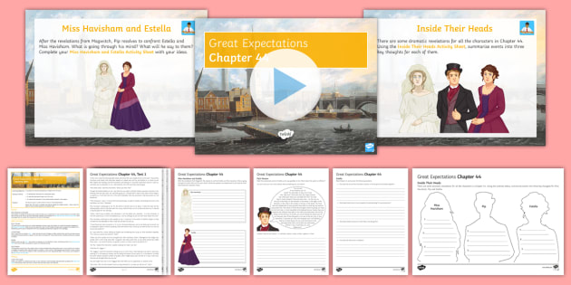 Great Expectations Chapter 44 Lesson Pack - Charles ens ... on job bible,