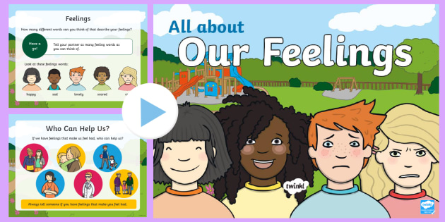 World Mental Health Week: All about Our Feelings PowerPoint