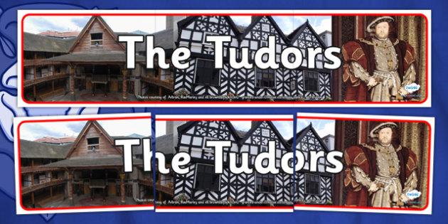 The Tudors Photo Display Banner - tudors, photo display banner, display banner, display, banner, photo banner, header, display header, photo header, photo