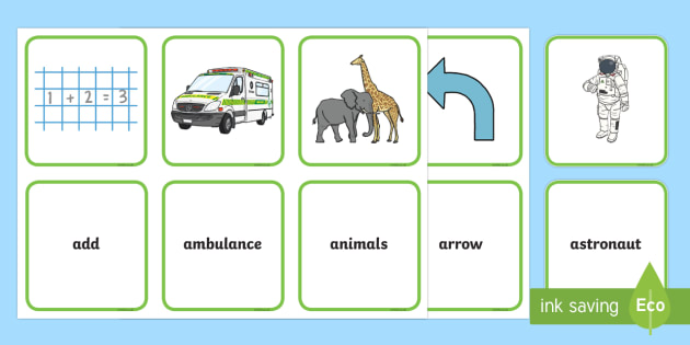 New Initial a Sound Matching Cards - initial a, initial sound, sound, matching, match, cards, activity#