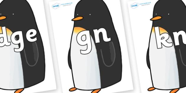 Silent Letters on Penguin to Support Teaching on Lost and Found - Silent Letters, silent letter, letter blend, consonant, consonants, digraph, trigraph, A-Z letters, literacy, alphabet, letters, alternative sounds