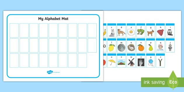 Preschool ABC Worksheets (teacher Made)