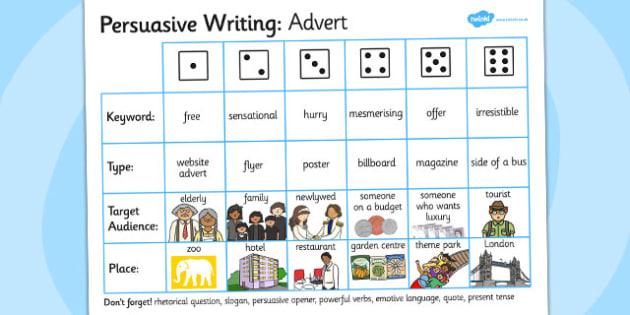 Use of persuasive language