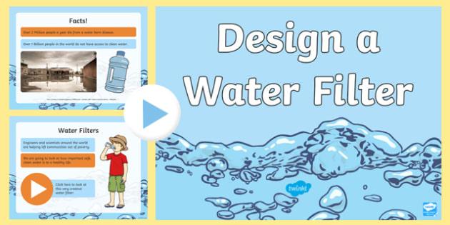 STEM Challenge Water Filter PowerPoint