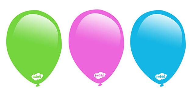Balloon, Balloons, Editable Display