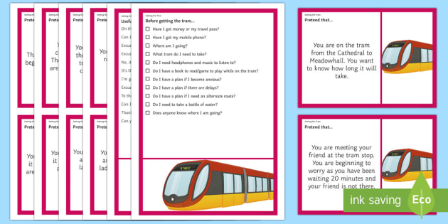 Getting the Tram – Scenarios and Social Scripts