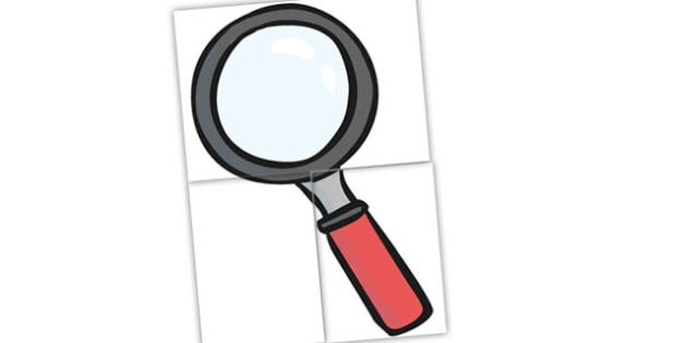 Giant Magnifying Glass - cut out, cut-out, display, display magnifying glass, giant magnifying glass, big magnifying glass, large magnifier, display image