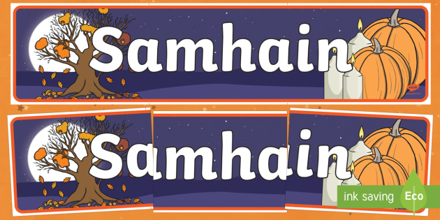 Samhain Display Banner