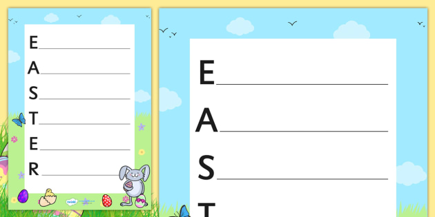 Easter acrostic poem acrostic poems acrostic poem acrostic easter acrostic poem acrostic poems acrostic poem acrostic poem poetry pronofoot35fo Image collections