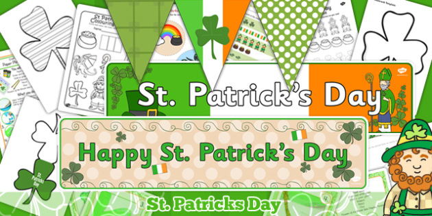 Childminder St Patricks Day Activity Pack - activities, childminders