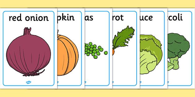 Vegetable Display Posters - vegetable, display, poster, sign, different vegetables, carrot, potato, tomato, pepper, food