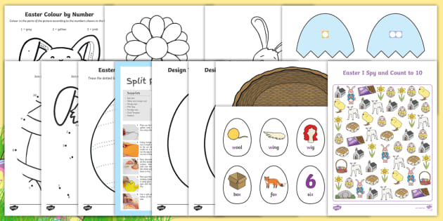 Eyfs Top 10 Easter Activities Top Ten Easter Resources Activities