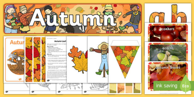 Autumn Display Pack