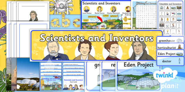 Science: Scientists and Inventors Year 2 Additional Resources