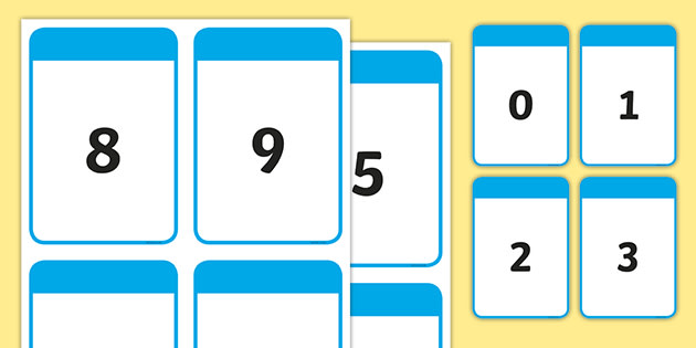 This is a photo of Printable Number Cards 1 100 inside medium size