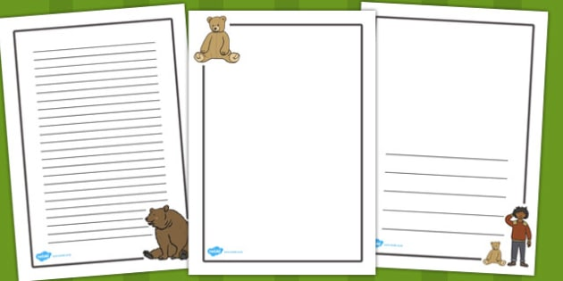 Ive Lost My Teddy Where Is it Display Posters - Where's My Teddy, teddy, woods, forest, lost, bear, display, banner, poster, sign, reading, story, book