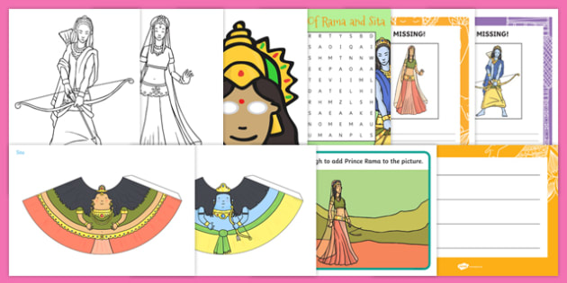 Top 10 Rama and Sita Activity Pack