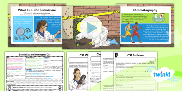 Science: Scientists and Inventors: CSI Year 5 Lesson Pack 2