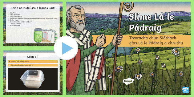 New make st patricks day slime powerpoint gaeilge saint new make st patricks day slime powerpoint gaeilge saint patrick slthach ccuart Image collections