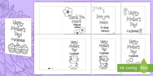 Mothers day card templates colouring romanian translation mothers day card templates colouring romanian translation romanian design mothers day card maxwellsz