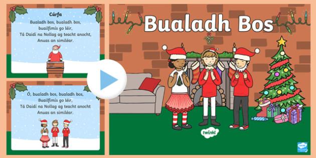 Bualadh Bos Song PowerPoint-Irish