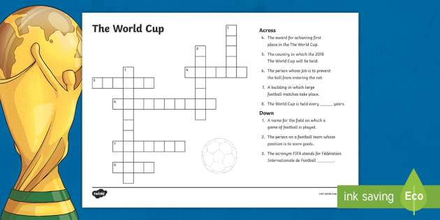 New ks2 the world cup crossword football criss cross new ks2 the world cup crossword football criss cross vocab ccuart Images