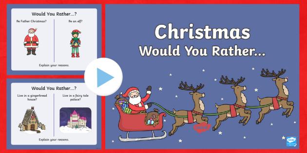 christmas quiz decider questions