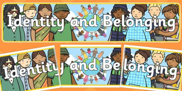 ROI The Early Childhood Curriculum Framework Identity Belonging Banner