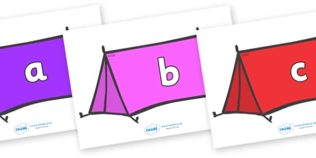Phase 2 Phonemes on Tents - Phonemes, phoneme, Phase 2, Phase two, Foundation, Literacy, Letters and Sounds, DfES, display
