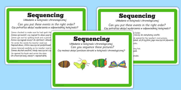 Guided Reading Skills Task Cards Sequencing Polish Translation - guided, reading, polish, cards