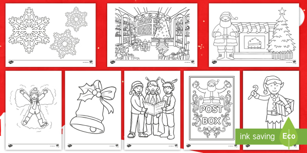 christmas colouring sheets christmas xmas colouring fine motor skills poster