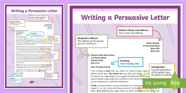 persuasive s