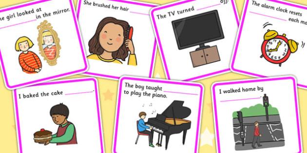 Fill In The Sentence Reflexive Pronouns - pronoun, SEN, literacy