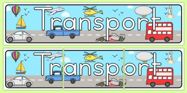 Transport Display Banner - transport, transport display, banner