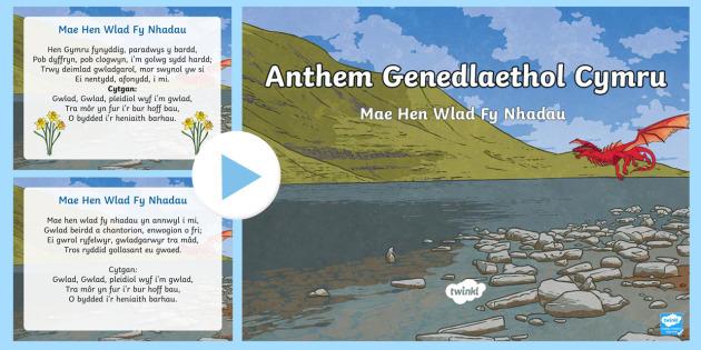 Welsh National Anthem - saint, david, st david, saint davids