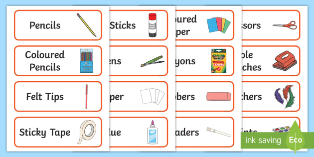 Editable Creative Area Resource Labels (Red) - Creative resource labels, Label template, Resource Label, Name Labels, Editable Labels, Drawer Labels, KS1 Labels, Foundation Labels, Foundation Stage Labels