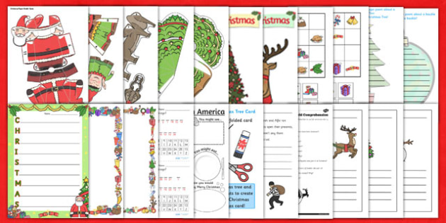 KS2 Christmas Resource Pack - ks2, christmas, resources, pack