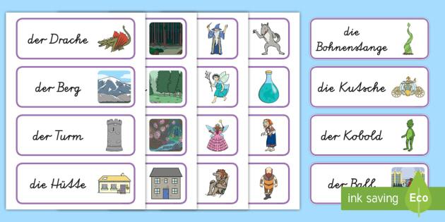 NEW * Märchen Wort- und Bildkarten - Märchen, Geschichten